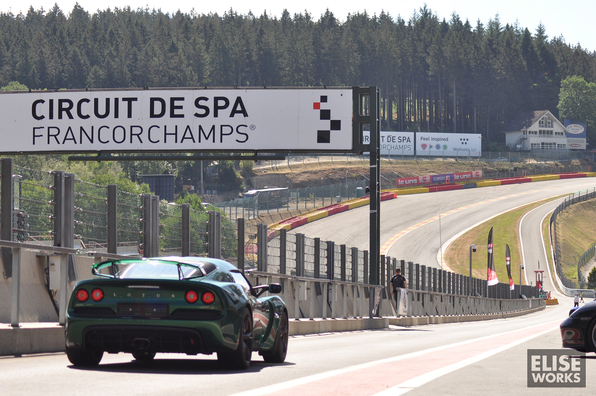 Lotus on track – Spa Francorchamps – 30-07-2018