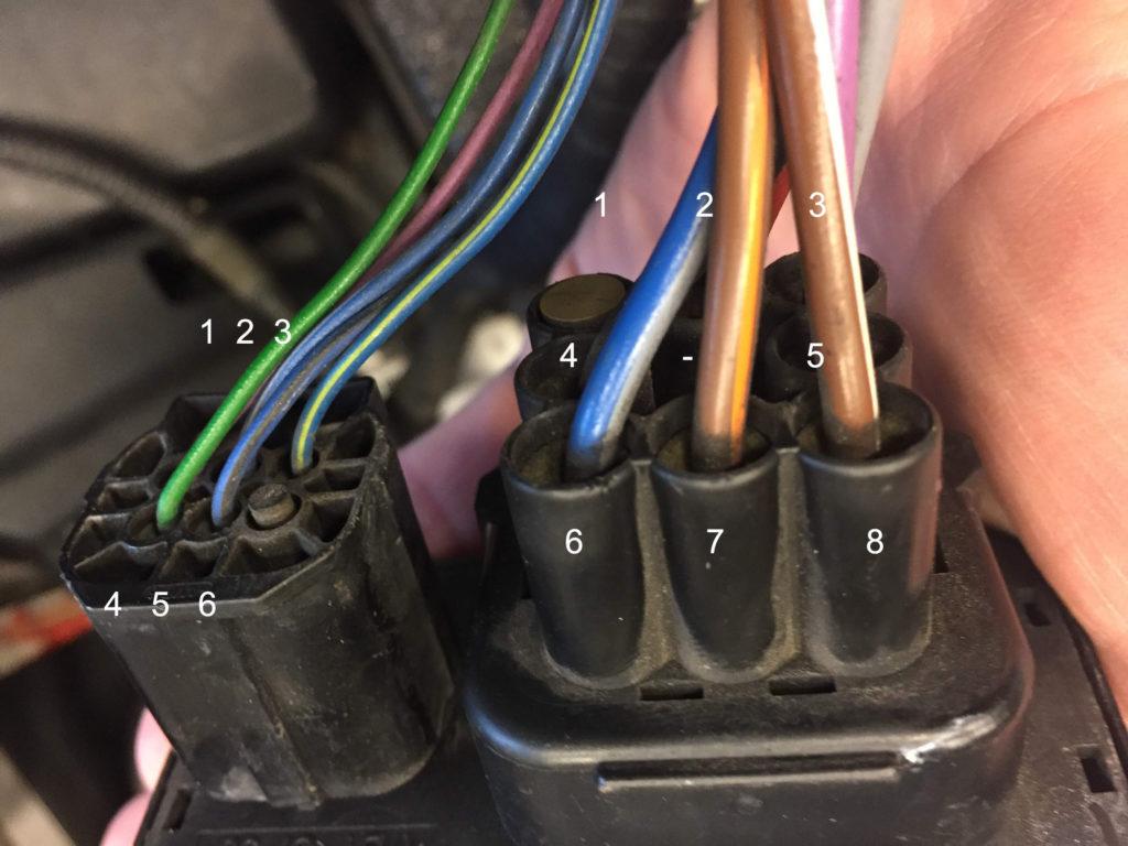 Wiring Fan Override Switch Including Cooling Fan Override Switch